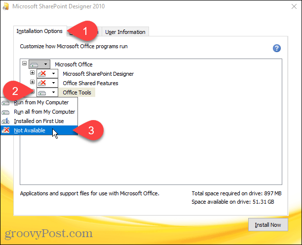 ms office 2010 installation files