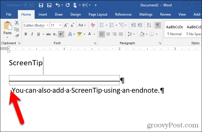 Numeral on endnote hidden in Word