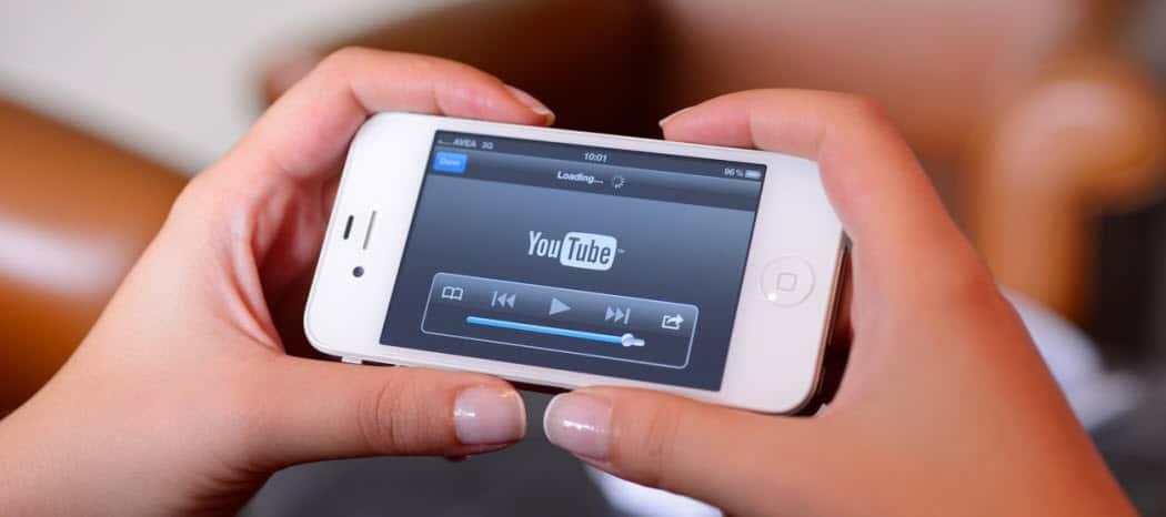 Cómo detener la aplicación de YouTube desde la reproducción automática de vídeos en el Home Feed