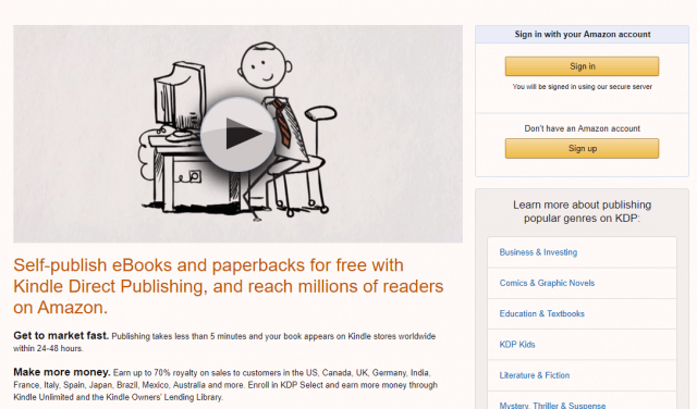 A Beginner's Guide To Self-Publishing On Amazon Kindle