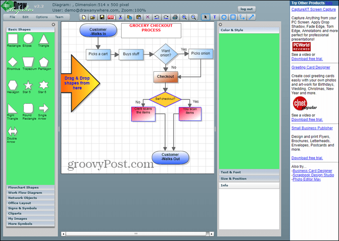 8 Online Tools To Draw Diagrams And Flowcharts