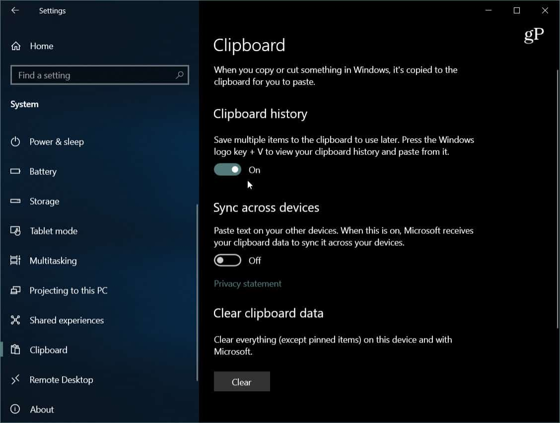 How To Use The New Cloud Clipboard On Windows 10 1809