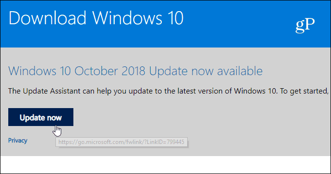 How to Manually Install Windows 10 1809 October 2018 Update