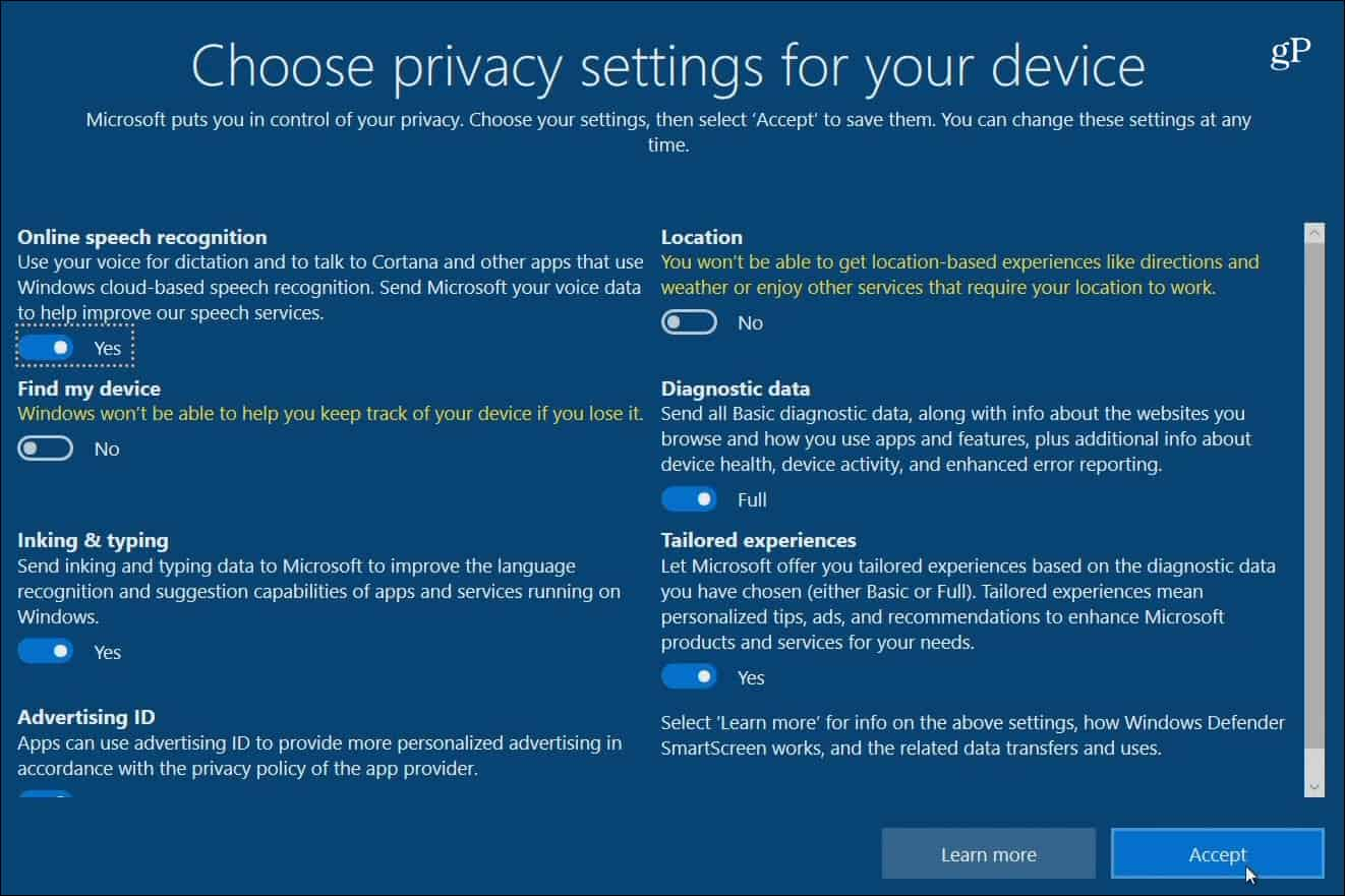 Use Microsoft Privacy Dashboard to Delete and Download
