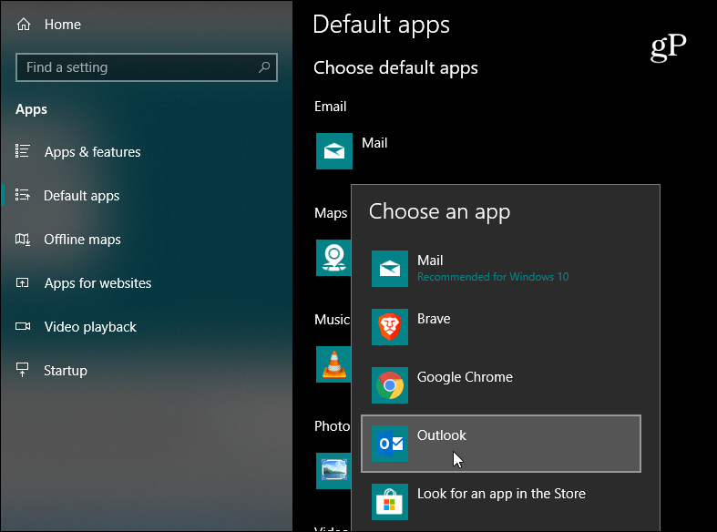 How to Change the Default Email App on Windows 10 for Mailto