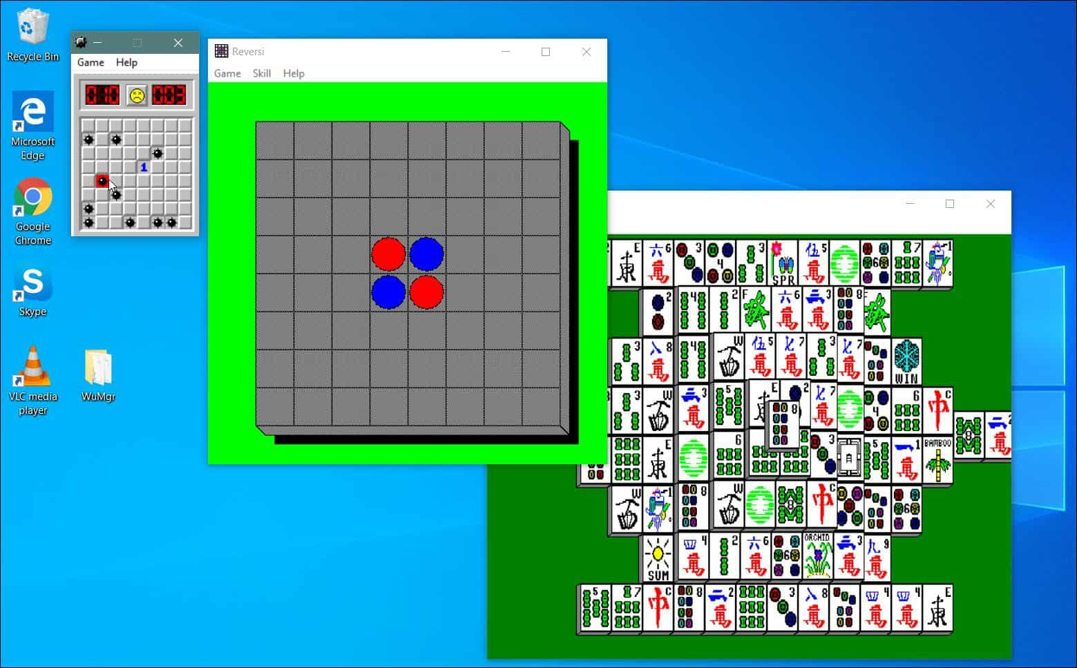 Play Minesweeper and Other Classic Microsoft Games on Windows 10