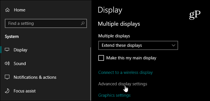 How to Find Advanced Display Info of Your Monitor on Windows 10