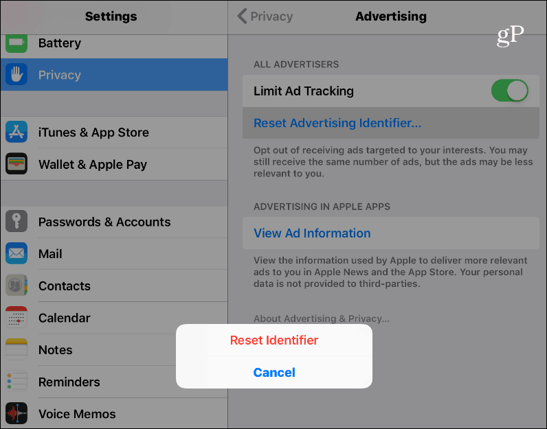 Limit Ad Tracking and Reset Your Advertising ID on Android