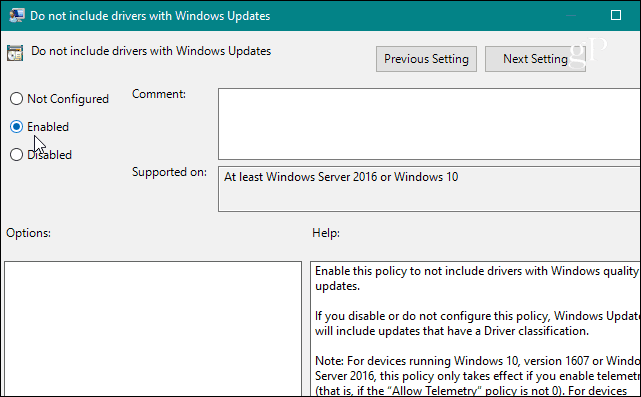 How to Prevent Windows 10 from Automatically Updating Hardware Drivers