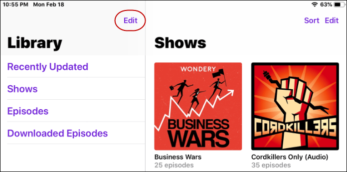 1 Podcast Stations