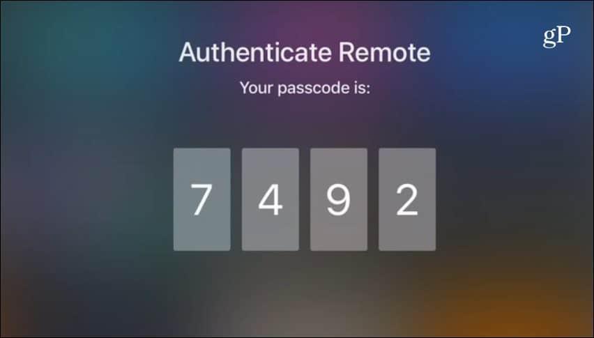 Apple TV Watch Code
