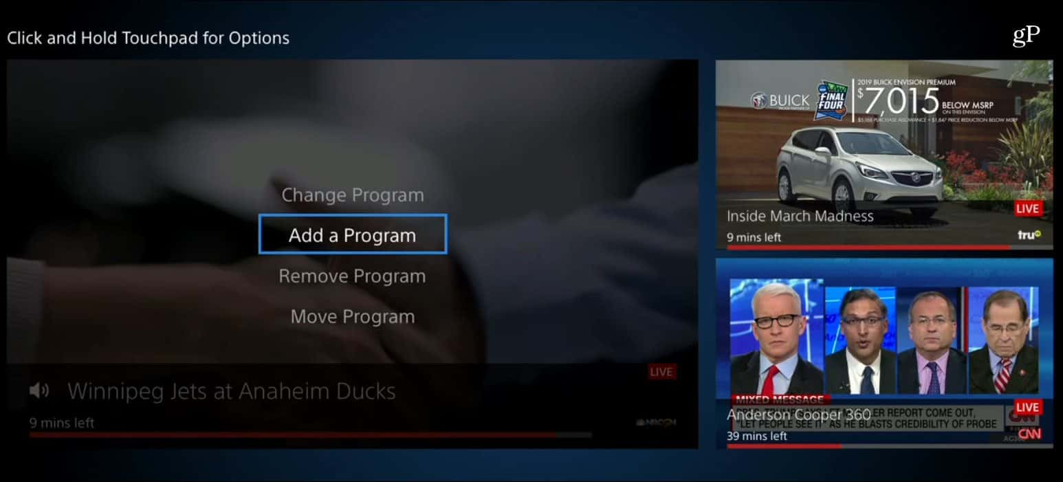 How to Use the PlayStation Multi-View Feature on Apple TV
