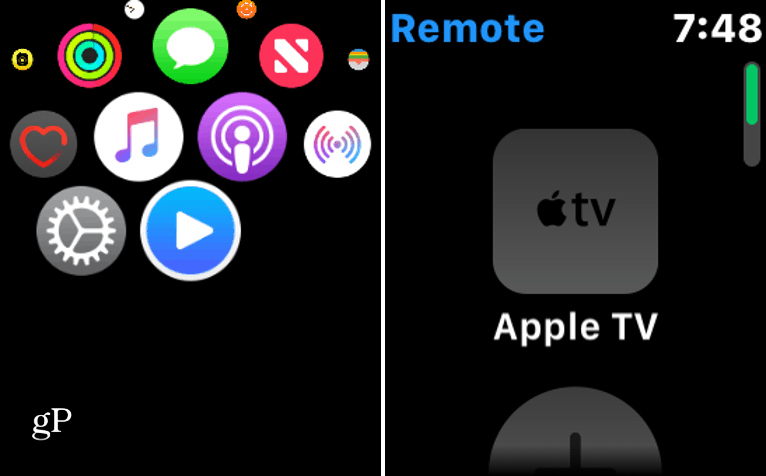 Connect Apple Watch to Apple TV