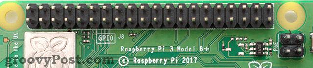 Raspberry Pi 3 B+ GPIO pins
