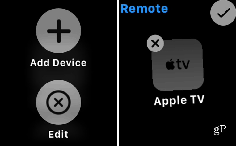 Remove Apple TV from Watch