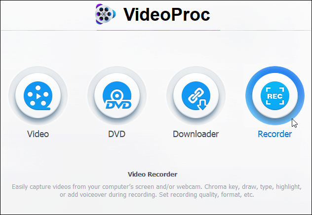 How to Record Your Computer Screen with VideoProc