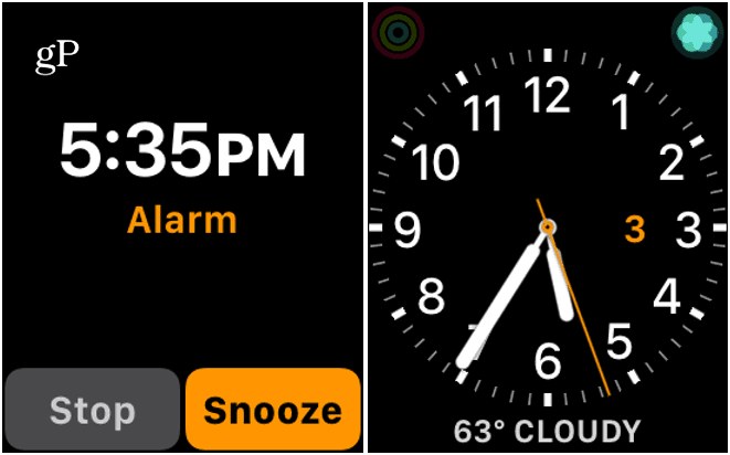 3 Stop or Snooze Apple Watch Alarm