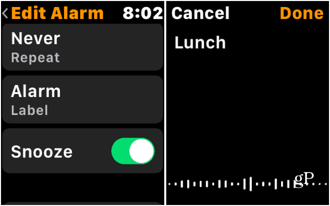 4 Edit Apple Watch Alarm Label
