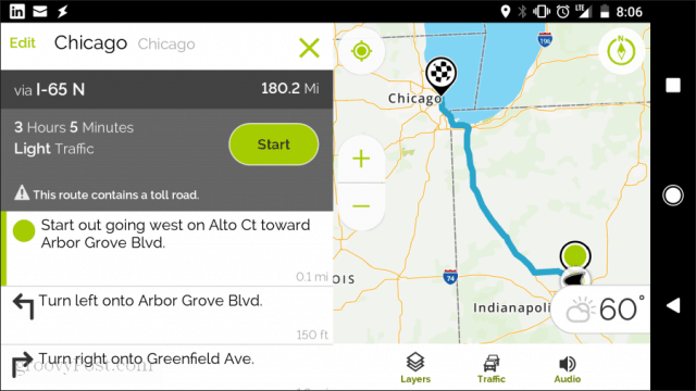 mapquest mobile app