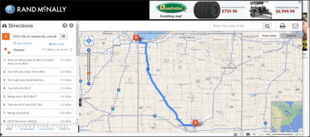 rand mcnally online mapping