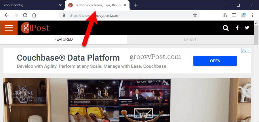 Black tabs in Firefox fixed