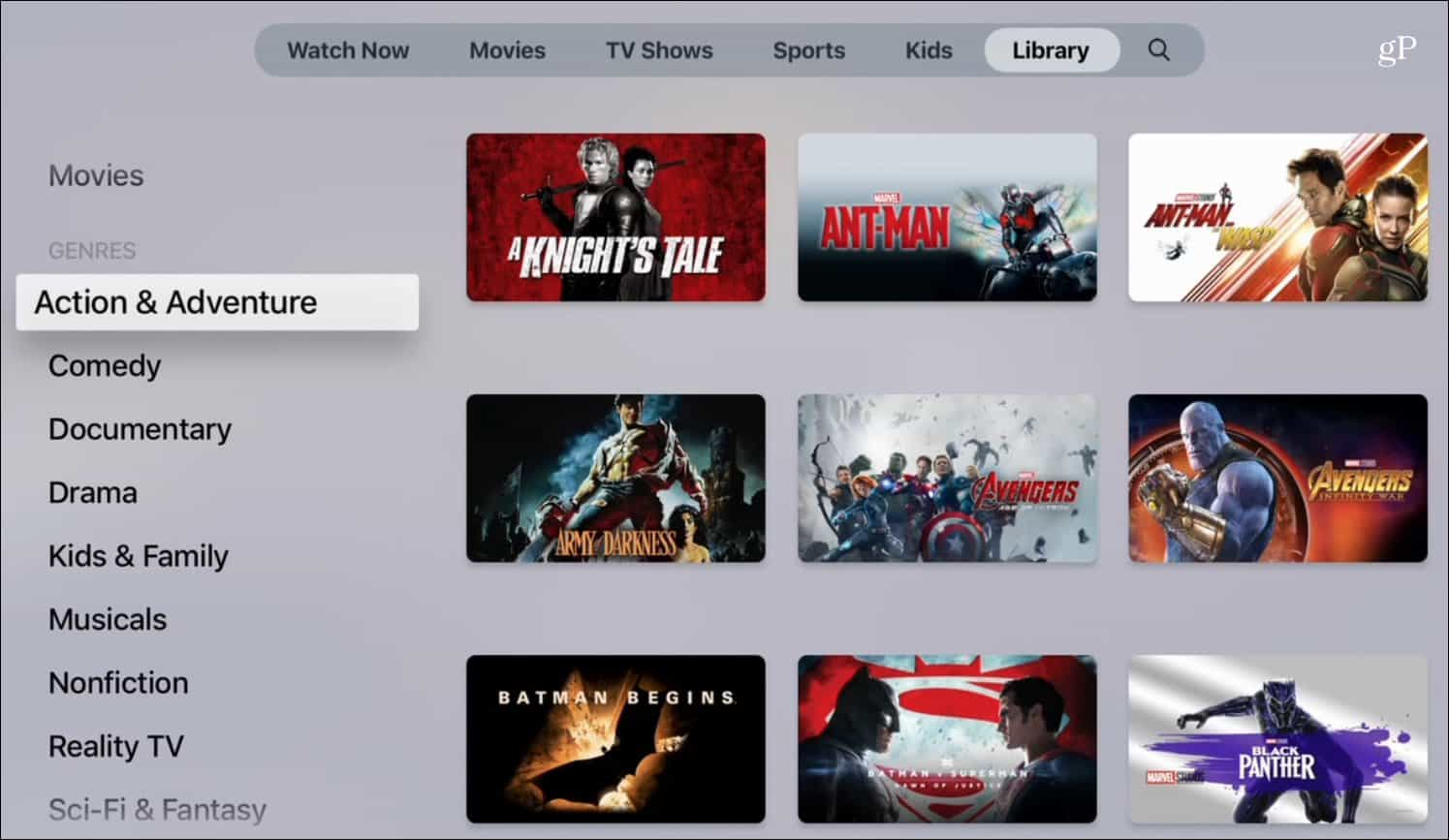 Apple Releases New Apple TV App with iOS 12 3