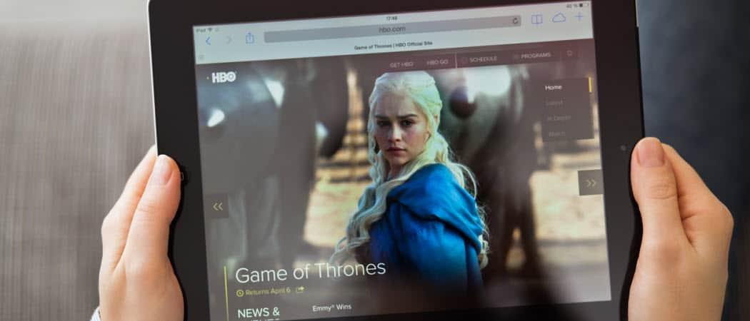 Cómo cancelar HBO ahora usando su iPhone o iPad