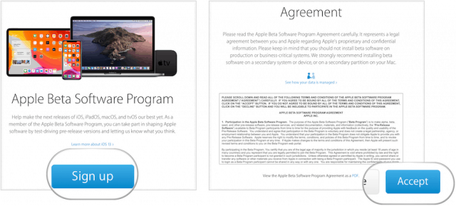 Join the Apple Public Beta Program to Test New Versions iOS
