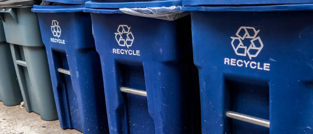 Cómo vaciar automáticamente la papelera de reciclaje en Windows 10
