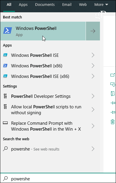 Cmd exe versus PowerShell on Windows: A Handy Reference