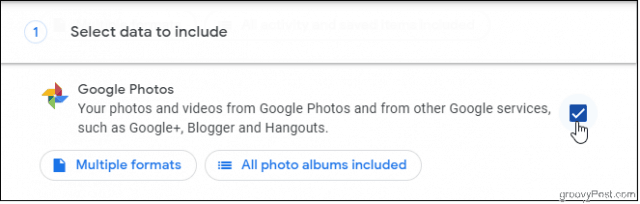 Select Google Photos