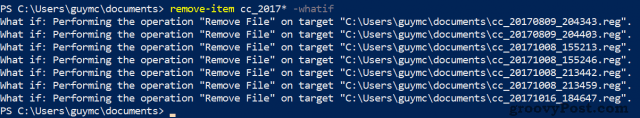 PowerShell -whatif Parameter in Action