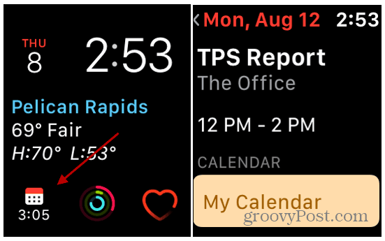 Tps Calendar.How To Check Your Calendar From Your Apple Watch