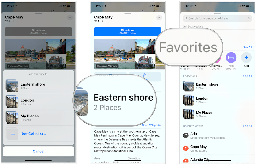 Maps in iOS 13