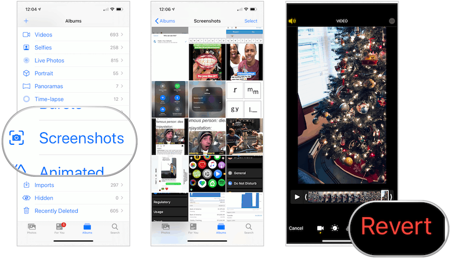 Photos app in iOS 13