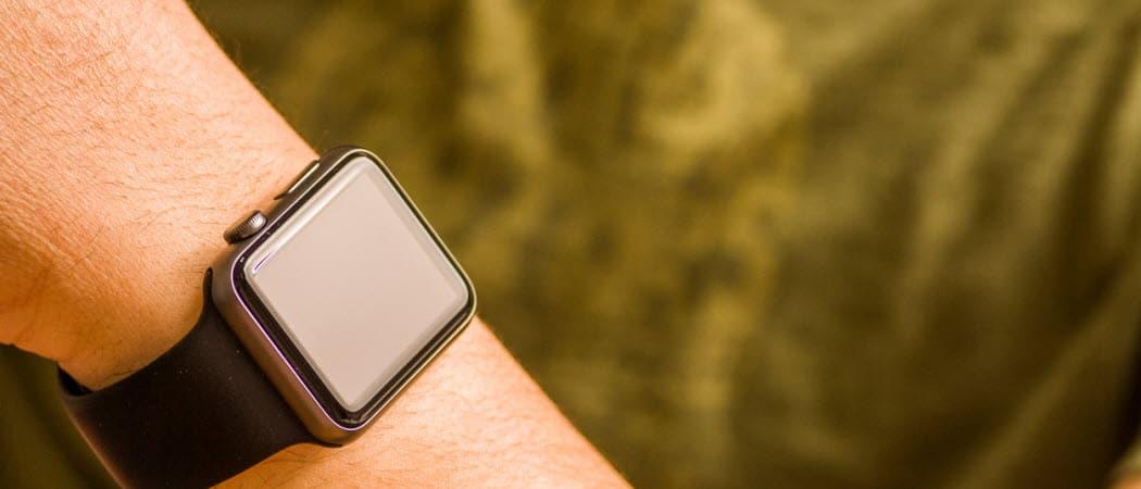 Cómo liberar espacio en tu reloj de Apple