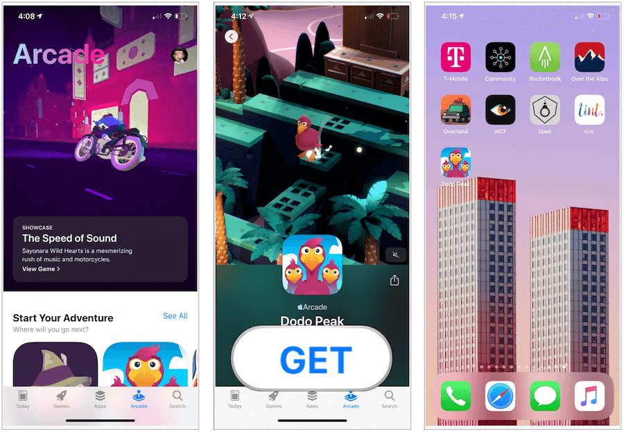 download Apple Arcade game