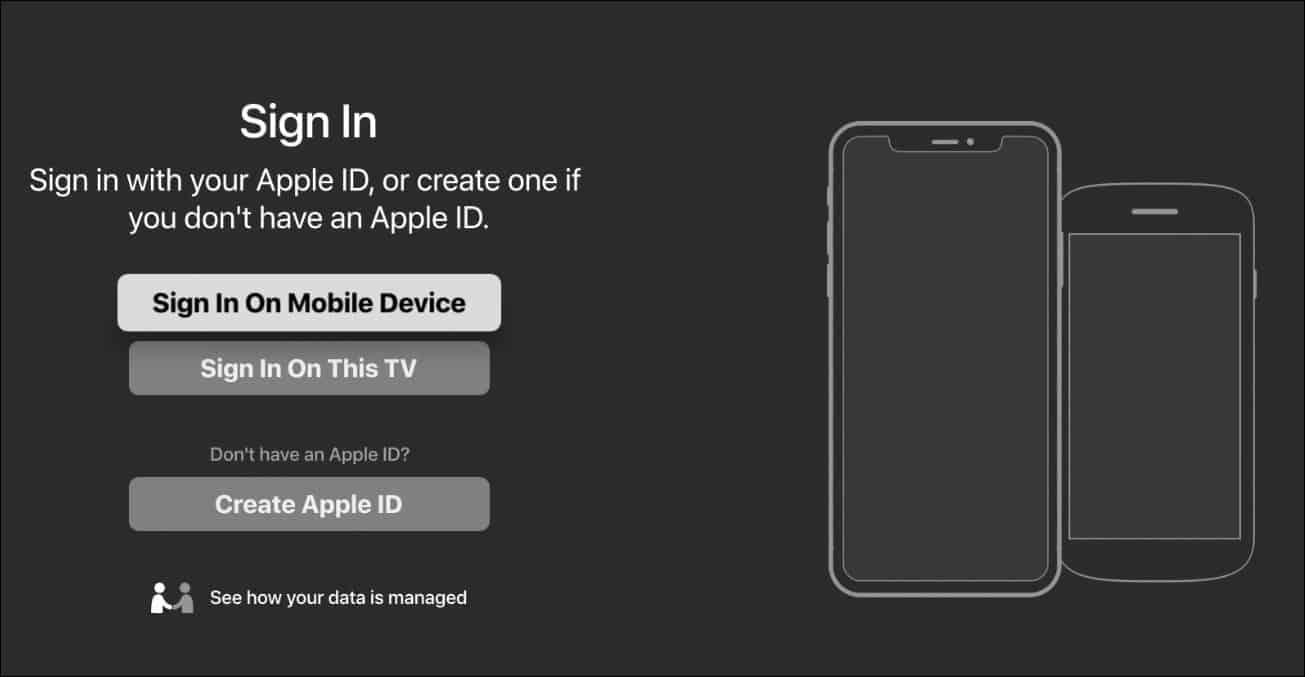 3 Apple TV app Roku sign in