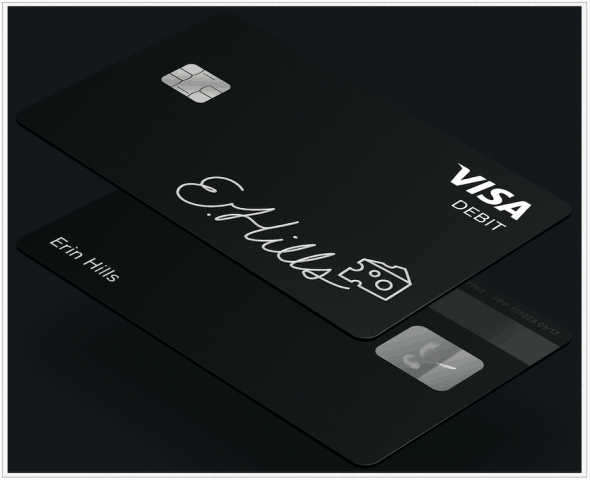Cash Card Black