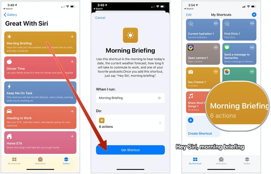 Grab Siri Shortcut