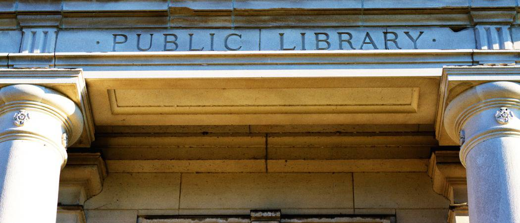 public library featured
