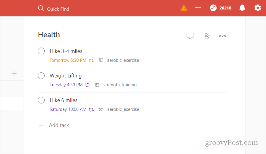 task labels in todoist