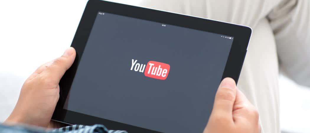 Cómo hacer que Google elimine automáticamente el historial de YouTube