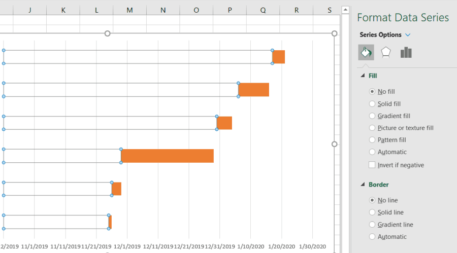 clear data series in Excel