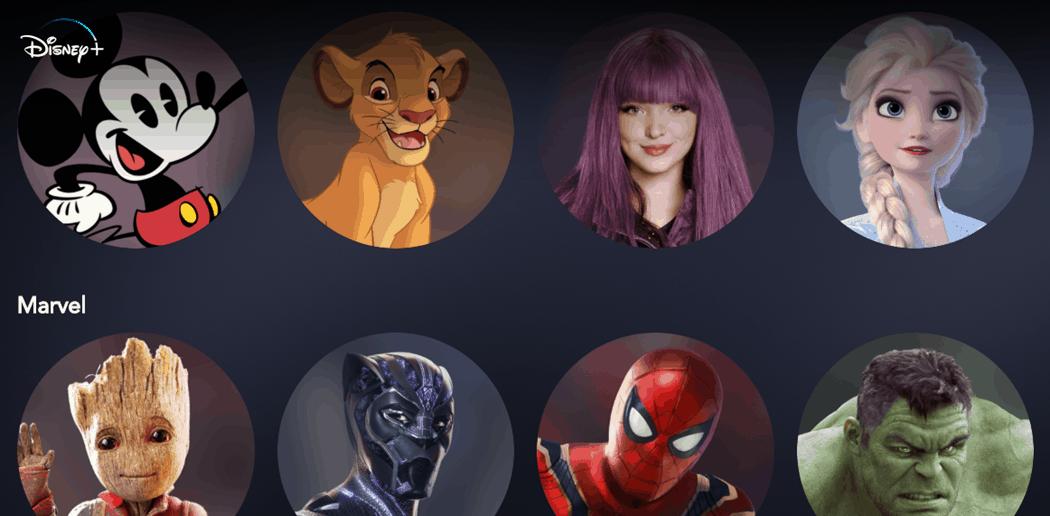 Cómo editar o eliminar perfiles de Disney Plus