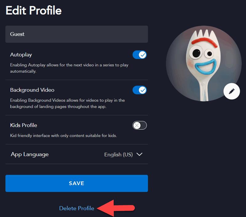 Disney Plus Profile