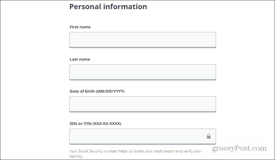equifax freeze credit form