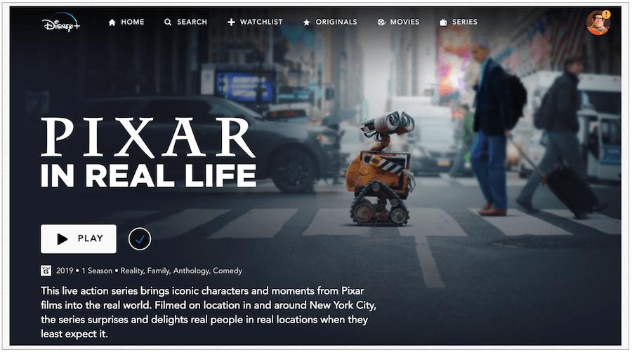 Pixar Real Life