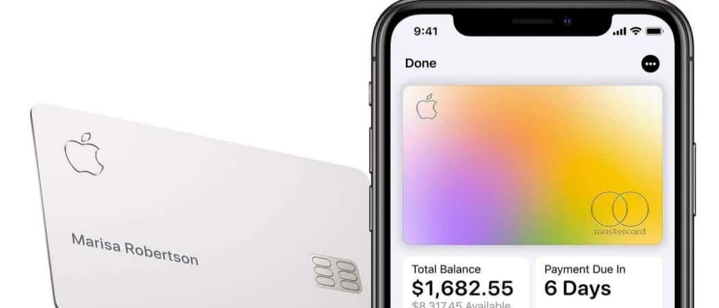 Tarjeta Apple: De qué se trata y cómo solicitarla