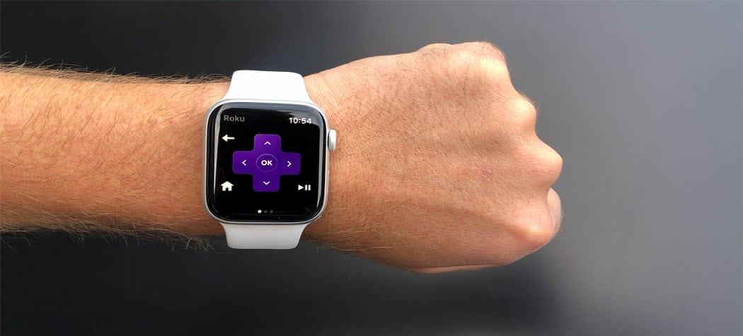 Cómo controlar tu Roku desde tu reloj Apple